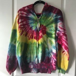 Jackets & Blazers - Tie Dye Hoodie